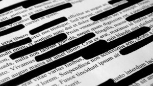 relevance redaction